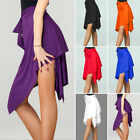 Внешний вид - Women Irregular Latin Dance Skirt Dance Skirt Professional Sumba Dance Ski Party