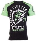 AMERICAN FIGHTER Mens T-Shirt FLASHPOINT Athletic BLACK GREEN Biker Gym UFC $40