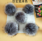 12CM Faux Fur PomPom Ball For Hat Bags Keychain Fluffy Ball DIY Large Pom Ball