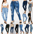 HOT SALE Plus Size Stretch Skinny Denim Jeans Slim Jeggings Women Pants Trousers