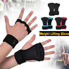 Gym Fitness Gloves Men Women's Weight Lifting Workout Training Wrist Wrap Straps