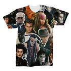 Johnny Depp Collage T-Shirt