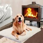 Pet Self Heating Thermal Blanket Bed Dog Cat Mat Bunny Heated Warmer HOT NK8
