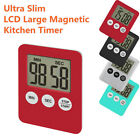 Hot Large Digital LCD Kitchen Cooking Timer Count-Down Up Clock Alarm Magnetic