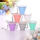 250ML Silicone Folding Cup Outdoor Camping Telescopic Collapsible Travel Mini