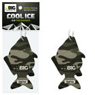 AIR FRESHENER Birthday Fathers Day Fishing Gift - Dad Grandad Him Cool Ice Scent