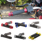 """Rubber Gel Hand Grips 7/8"""" 22mm Handlebar End For Scooter Naked Sport Motorcycle"""