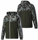 Adidas Originals Camo Windbreaker Green Camouflage Hoodie Track Top Jacket