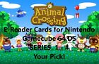 Animal Crossing E-Reader Cards. Series 1 2 3 4. Nintendo 64 GameCube DS