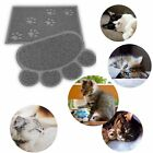 Pet Dog Puppy Cat Feeding Mat Pad Cute Paw PVC Bed Dish Bowl Food Placemat