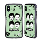 OFFICIAL ONE DIRECTION GROUP GRAPHIC FACES HYBRID CASE FOR APPLE iPHONES PHONES