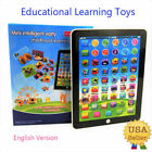 Внешний вид - New Kids Children TABLET PAD Educational Learning Toys Gift For Boys Girls Baby