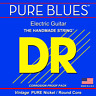 More images of DR Strings Pure Blues Vintage Nickel Electric Guitar Strings Extra Heavy 12-52