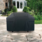 Large BBQ Cover Heavy Duty Waterproof Rain Barbeque Grill Dust Protector Black