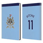 NEWCASTLE UNITED FC NUFC 2017/18 AWAY KIT 2 WHITE GREY LEATHER PASSPORT HOLDER