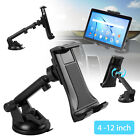 """360° Car Dashboard Windshield Mount Holder Stand for Phone & 4-12"""" Tablets Pad"""