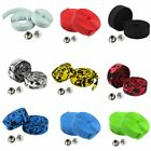 New Cycling Road Bike Sports Bicycle Cork Handlebar Wrap Tape Belt+2 Bar Plugs