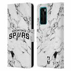 OFFICIAL NBA 2018/19 SAN ANTONIO SPURS LEATHER BOOK CASE FOR HUAWEI PHONES