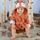 US Stock Toddler Baby Kids Cosplay Pajamas Hooded Animal Romper Bathrobe Costume