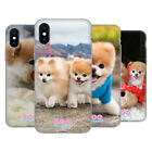 OFFICIAL BOO-THE WORLD'S CUTEST DOG PLAYFUL GEL CASE FOR APPLE iPHONE PHONES