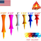 Plastic Step Down Castle Golf Tees Pack Of 50 100 Height Control 6 Colors