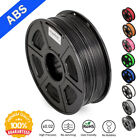 3D Printer Filament ABS 1.75mm 1KG/2.2lb Spool Black ABS 3D Printer Consumables