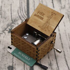 Engraved Wooden Music Box Toys Kids Gifts