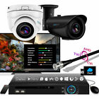 2 Zxtech Camera iPhone DVR Ultra Clear i 200ft Infrared 2-MP Steel Zoom CCTV Kit