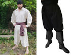 SCA LARP 18th Century Pirate Sailor Whaler Slops Garment Dyed Organic USA Cotton