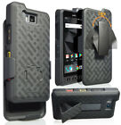 Kickstand Case Slim Cover + Belt Clip Holster for Sonim XP8 Phone (XP8800)