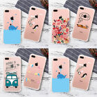 Cute TPU Apple Painting Phone Back Case Cover For iPhone 5 6S 7 8 Plus XS MAX XR