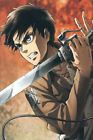Anime Attack on Titan Season Characters Poster Group HG Glossy Laminated