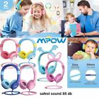 Mpow Wired Kids Headphones Safe Over-ear Headset for Children Toddler Baby Gift