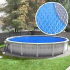 Crystal Blue Heavy-Duty Space Age Diamond Solar Cover for Above Ground Swimming