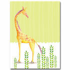 Elephant Giraffe Nursery Art Canvas Poster Minimalist Painting Baby Room Decor