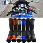 "MOTORCYCLE CUSTOM 7/8"" 22mm HANDLEBAR RUBBER GEL HAND GRIZS FOR DUCATI MONSTER G"