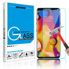 For LG V40/V30/V35 ThinQ/V20 Premium Tempered Glass Screen Protector Film Clear