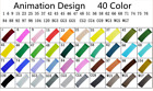 Pro 40/60/80/168 Colors Sets Sketch Paint Art Markers Pen Set Gift For Painting