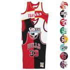 NBA Mitchell & Ness Split Swingman Jersey Collection Men's on eBay