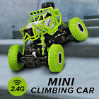 Mini 4WD Drive Rock Crawler Off-road Car Remote Control RC Toy Truck Electric US