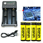 USA 18650 Rechargeable Battery 3.7V 9900mAh 18650 Batteries Cell Smart Charger