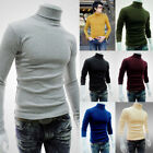 Fashion Turtle Neck Sweater Pullover Warm High Neck for Winter For Men and Women