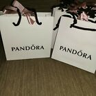 New Genuine Pandora Charm Ring Earring box, Bracelet Box and Gift bags