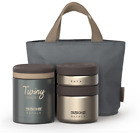 Stainless Thermos Lunch Box Set 1080ml Portabl Food Storage Keep 6 Hrs. Hot&Cool
