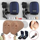 Внешний вид - 2Packs Rechargeable Digital Hearing Aids Mini In Ear Adjustable Tone Amplifier