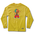 GRIZZLY x 6IX9INE Tekashi69 Mens LONG SLEEVE T-Shirt LIL TAK Rap Streetwear RARE