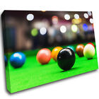 H467 Snooker Table Balls Sports Canvas Poster Wall Art Print Picture Framed $57.61 USD on eBay