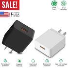 18W Fast Quick Charge QC 3.0 USB Wall Charger Adapter US Plug For iPhone/Samsung