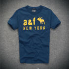 BNWT Abercrombie & Fitch Mens tee by Hollister AF S M L XL XXL t shirt UK Seller