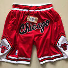 Chicago Bulls NBA Basketball Shorts Men's Pants NWT Stitched